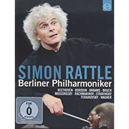 Simon Rattle conducts The Berliner Philharmoniker (Box Set) [Blu-ray]