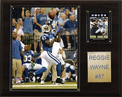 NFL Reggie Wayne Indianapolis Colts Player Plaque