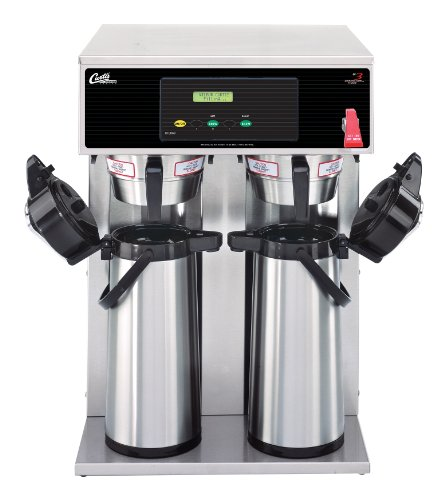 Wilbur Curtis G3 Airpot Brewer 2.2L To 2.5L Twin/Standard Airpot Coffee Brewer Dual Voltage – Commercial Airpot Coffee Brewer  – D1000GT63A000 (Each)