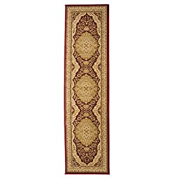 Imperial Collection High Quality Traditional Turkish Rugs 2\' x 7\'7 in. Jute Runner Rug (Red/Ivory)