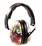 Baby Banz earBanZ Kids Hearing Protection, Geo Print, 2 -12+ YEARS