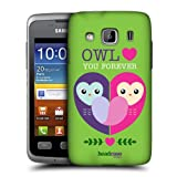 Head Case Owl Love You Lovey Dovey Mishmash Case For Samsung Galaxy Xcover S5690