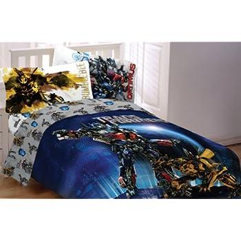 4pc Transformers Armada Full Bedding Sheet Set