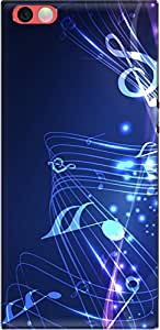 The Racoon Grip printed designer hard back mobile phone case cover for Nexbit Robin. (music fall)