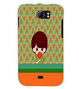 PrintDhaba Cartoon D-4230 Back Case Cover for MICROMAX A110Q CANVAS 2 PLUS (Multi-Coloured)