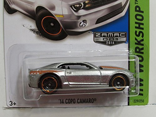 Hot Wheels - 2014 HW Workshop 232/250 - Then and Now - '13 Copo Camaro (Camaro 2014 Hot Wheels compare prices)
