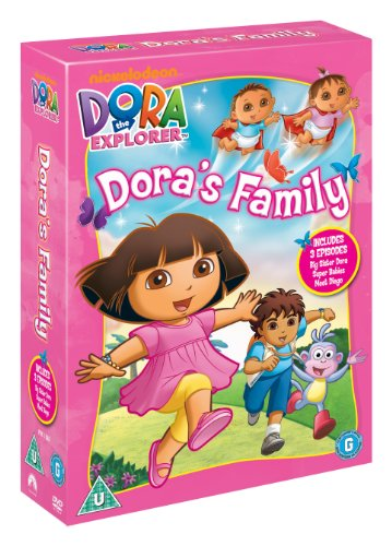 Dora The Explorer Family Trpl [DVD]