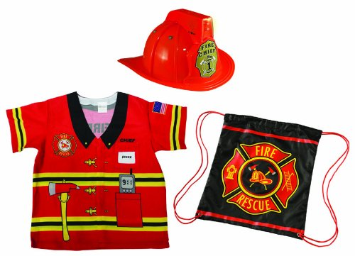 My 1st Career Gear Firefighter Kids Costume