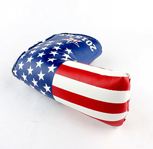 Stars and Stripes Golf Putter Club Head Cover Headcover for Scotty Cameron Odyssey Blade Callaway Taylormade Titleist