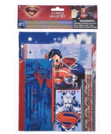 Stationary Set - Superman - Man Of Steel - 11 pcs Set - 1