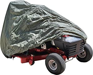 Olive Green Garden Tractor Dust Cover by Discount Ramps