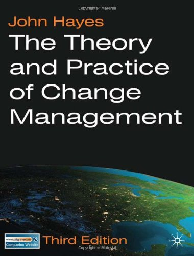 The Theory And Practice Of Change Management: Third Edition front-758196