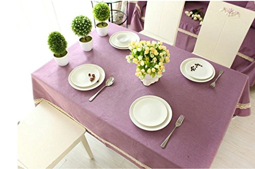 X&L Tablecloth table linen home sewing fashion solid color cotton and linen table cloth tablecloth , 135135