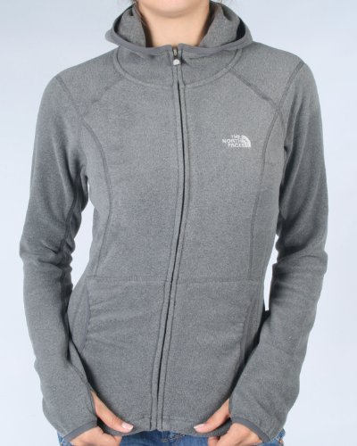 The North Face Women's 100 Masonic Hoodie, graphite grey (Size: L)