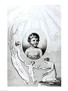 Mary Wollstonecraft Shelley - Poster by William Blake (18x24)