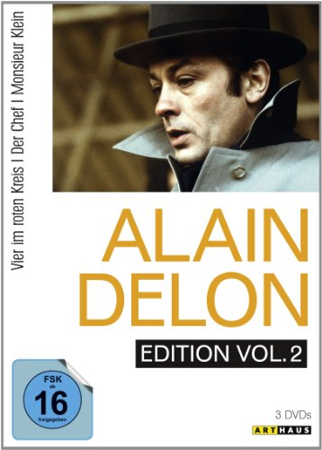 Alain Delon Edition, Vol. 2 (Vier im roten Kreis / Der Chef / Monsieur Klein) [3 DVDs]
