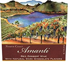 Lago di Merlo Amanti Chocolate Red Dessert Wine, Mendocino 750 mL