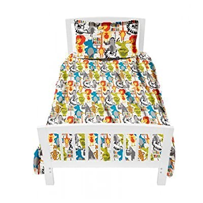 Ready Steady Bed Children's Single Bed Size Born Free Print Duvet Cover Set. Size: 135cm x 200cm