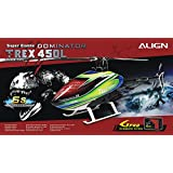 Align/T-Rex Helicopters 450L Dominator Super 6S Combo with Gpro Flybarless System