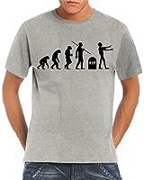Touchlines Herren T-Shirt Evolution Zombies