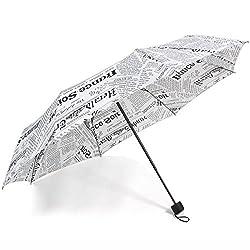 Umbrella (Newspaper) White