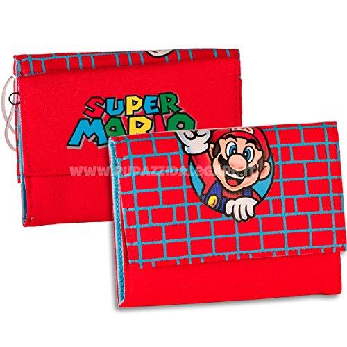 Portafogli Super Mario Bros - Mario Wall rosso