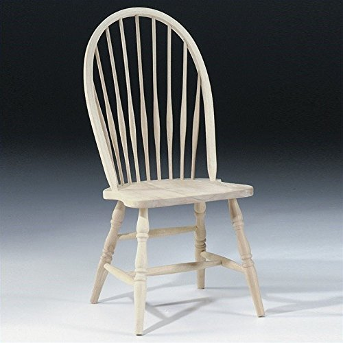International Concepts 1C-969 Tall Windsor Side Chair, Unfinished (Windsor Side Chair compare prices)