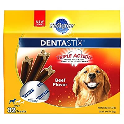 PEDIGREE DENTASTIX Beef Flavor Large Treats