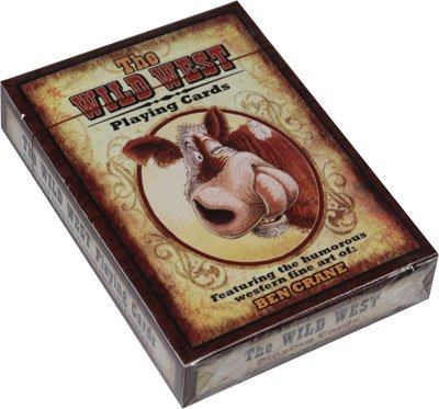 Rivers Edge Humorous Wild Western Playing Cards