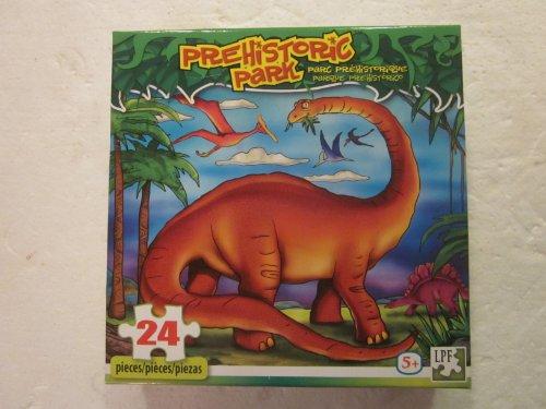 Prehistoric Park Jigsaw Puzzle 24 Piece - 1