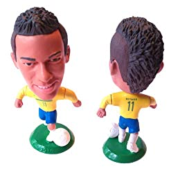 "Brazil Neymar #11 Toy Figure 2.5"" by Ownage Pwnage"