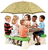 Step2 - Picnic Table With Umbrella - Active Bright