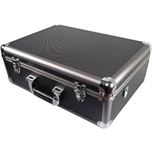 Ape Case Extra Large Aluminum Wheeled Hard Case - Grey/Black (ACHC5700)