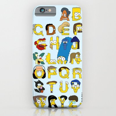 Simpsons Iphone 6 Case Iphone 6 Case by Mike Boon