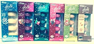 Glade Oil Candle Refills Christmas Scent Winter Bundle 24 Refills