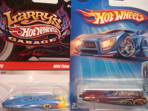 Hot Wheels Wild Thing Highly Detailed Variant Set: Larrys