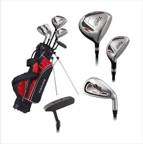Aspire Zoom Junior Golf Club Set With Stand Bag For Kids Ages 9 12 Right Hand Rodrigo N Gormanker