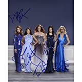 Deperate Housewives CAST Autographed 8x10 Photo - FREE SHIPPING - - Marcia Cross, Felicity Huffman,Teri Hatcher, Eva Longoria, and Dana Delaney