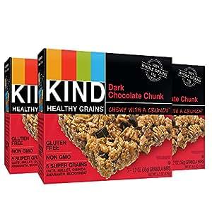 KIND Healthy Grains Granola Bars, Dark Chocolate Chunk