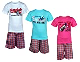 Spictex Boys' Clothing Set (SPIC-VGS144-BLU-PNK-WHT_Multicolor_9 Years - 10 Years)