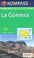 La Gomera (Espagne, Iles Canaries) 1:30.000 Carte de randonnée KOMPASS N ° 231