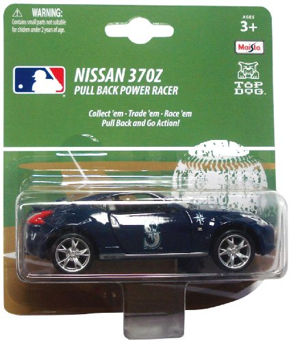 MLB Seattle Mariners Pull Back 300Z 1:43 Die Cast Car at Amazon.com