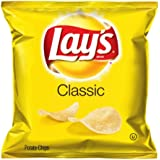 Lay's Potato Chips, Classic, 1.88 Ounce (Pack of 12)