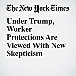 Under Trump, Worker Protections Are Viewed With New Skepticism | Barry Meier,Danielle Ivory