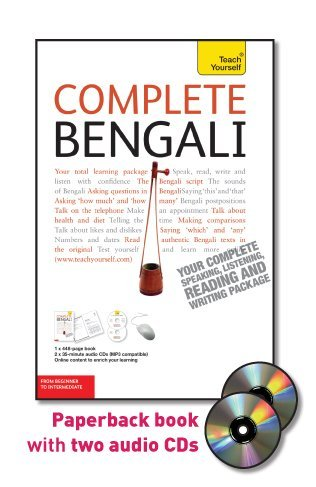 Complete Bengali with Two Audio CDs: A Teach Yourself Guide (Teach Yourself Language)