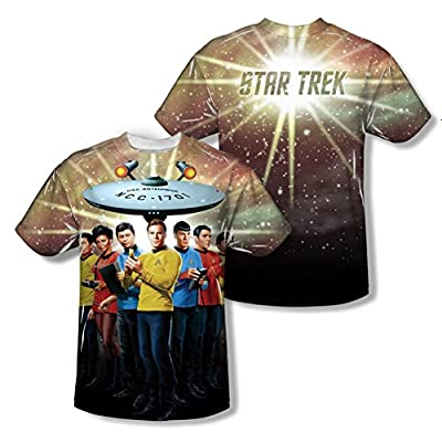 Star Trek Original Series Crew All Over Print Front / Back T-Shirt
