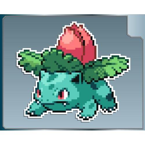 Amazon Com Ivysaur Sprite From Pokemon Vinyl Decal Sticker 4 Quot