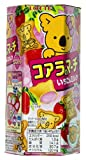 Lotte Koala's March Strawberry & Milk Cream Cookies - Travel Size (Japanese Import)