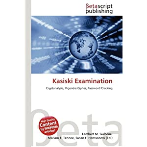 Kasiski Examination | RM.