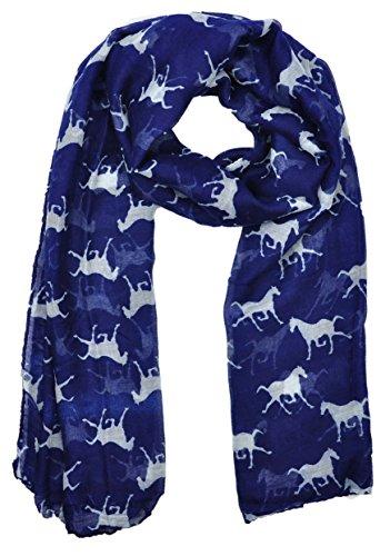 ladies-womens-horse-print-scarf-wraps-shawl-soft-scarves